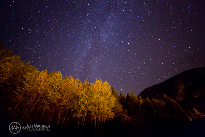 Milky Way over Aspen, Guanella Pass, CO