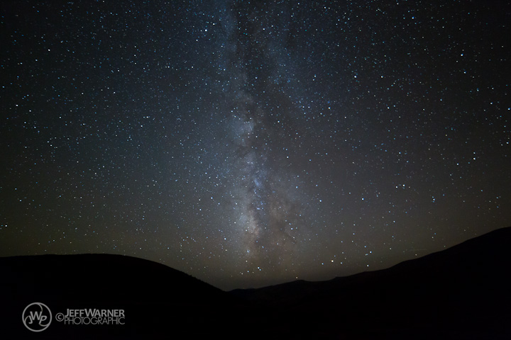 Milky Way descends into the south side of Guanella Pass