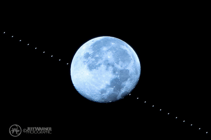 ISS lunar transit at 0635 on 10/2/12, Golden, Colorado