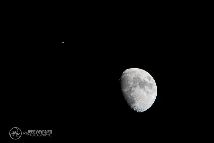 1/21/13: Moon and Jupiter