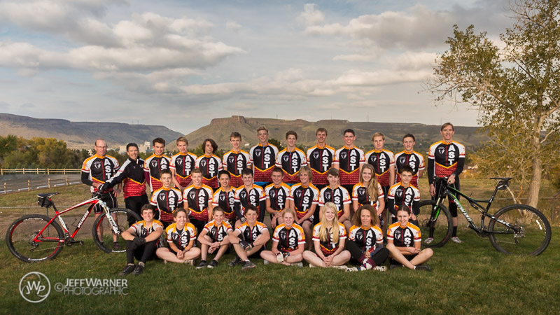 2013 Golden High School MTB Team