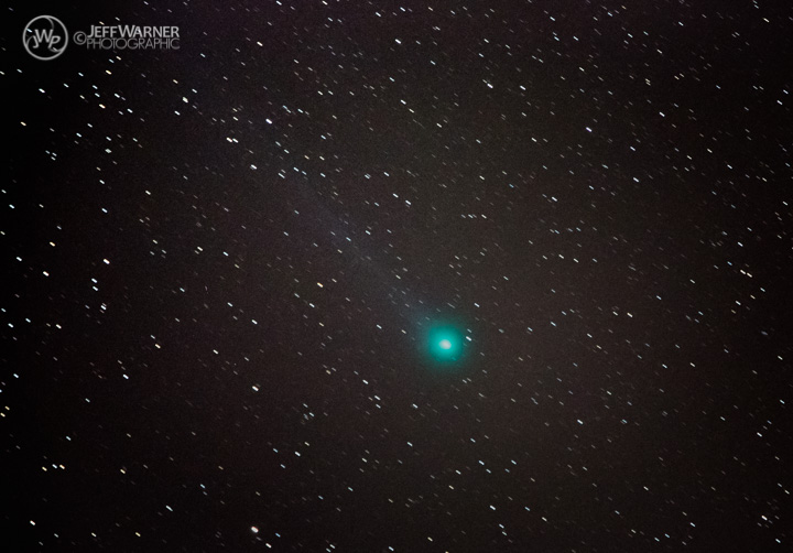 Comet Lovejoy over Golden, CO 1/14/15.