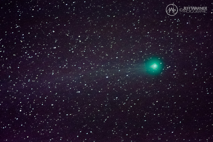 Comet Lovejoy imaged at Guanella Pass, CO, 1/15/15.